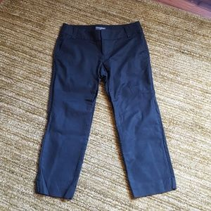 Banana Republic black crop pants